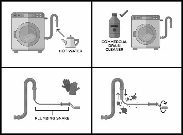 How to clean the drain hose of the washing machine Samsung