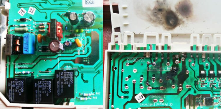 How to replace and repair the control board of the Siemens dishwasher