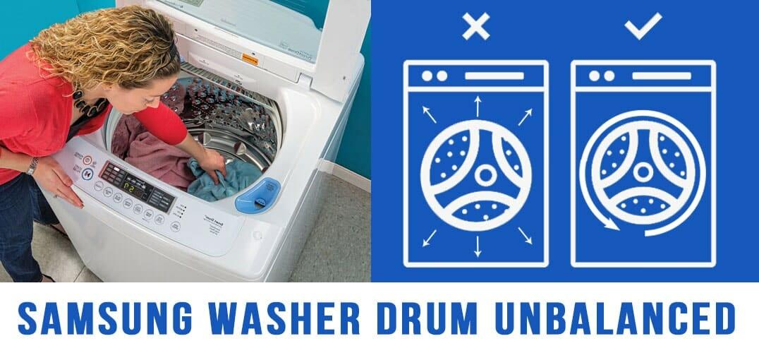 Samsung Washer drum unbalanced