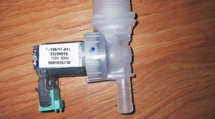 Siemens dishwasher inlet valve