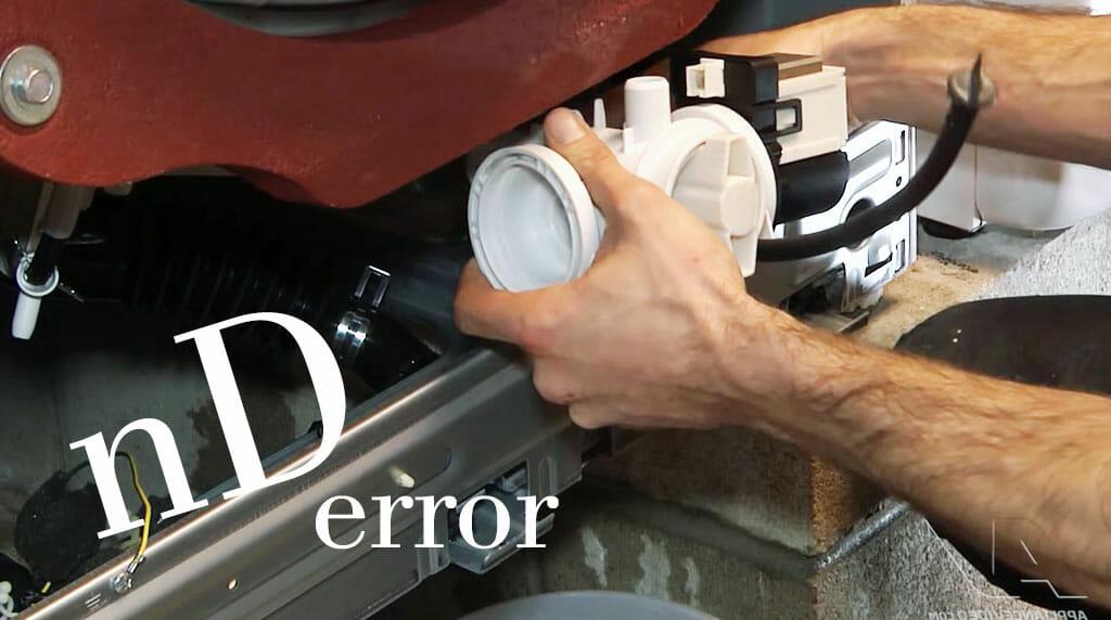 fixing nD error code Samsung washing machines