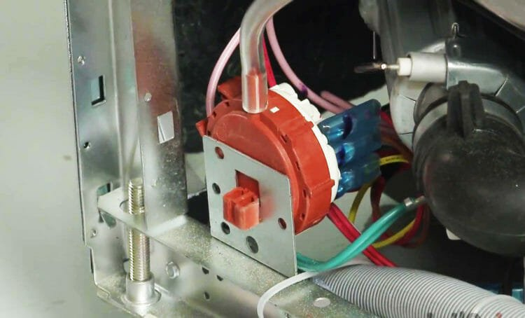 pressure switch Siemens dishwashers