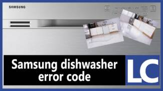 Samsung dishwasher error code LC