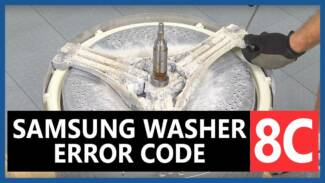 Samsung washer 8C error code