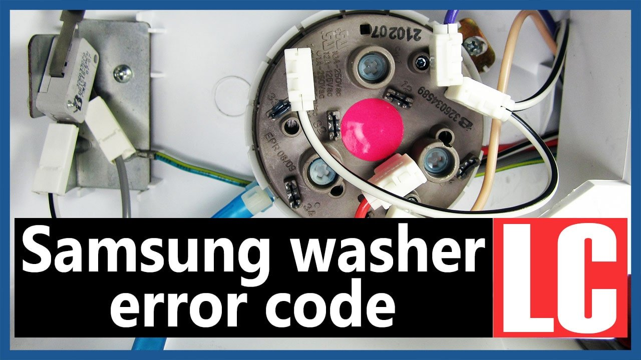 Samsung washer error code LC